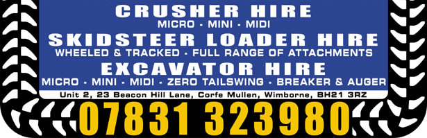 Concrete crusher hire Corsham